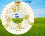 прериаль CCXX года (май-июнь 2012)