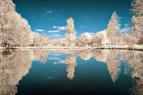 Фантастические пейзажи инфракрасной съемки