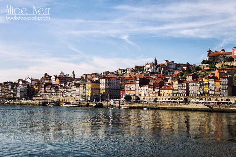 Рибейра — самый старый район Порту