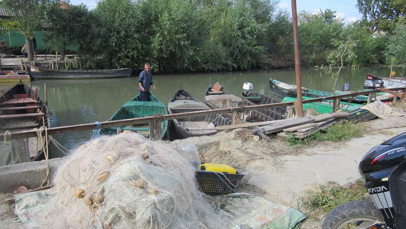 После рыбалки