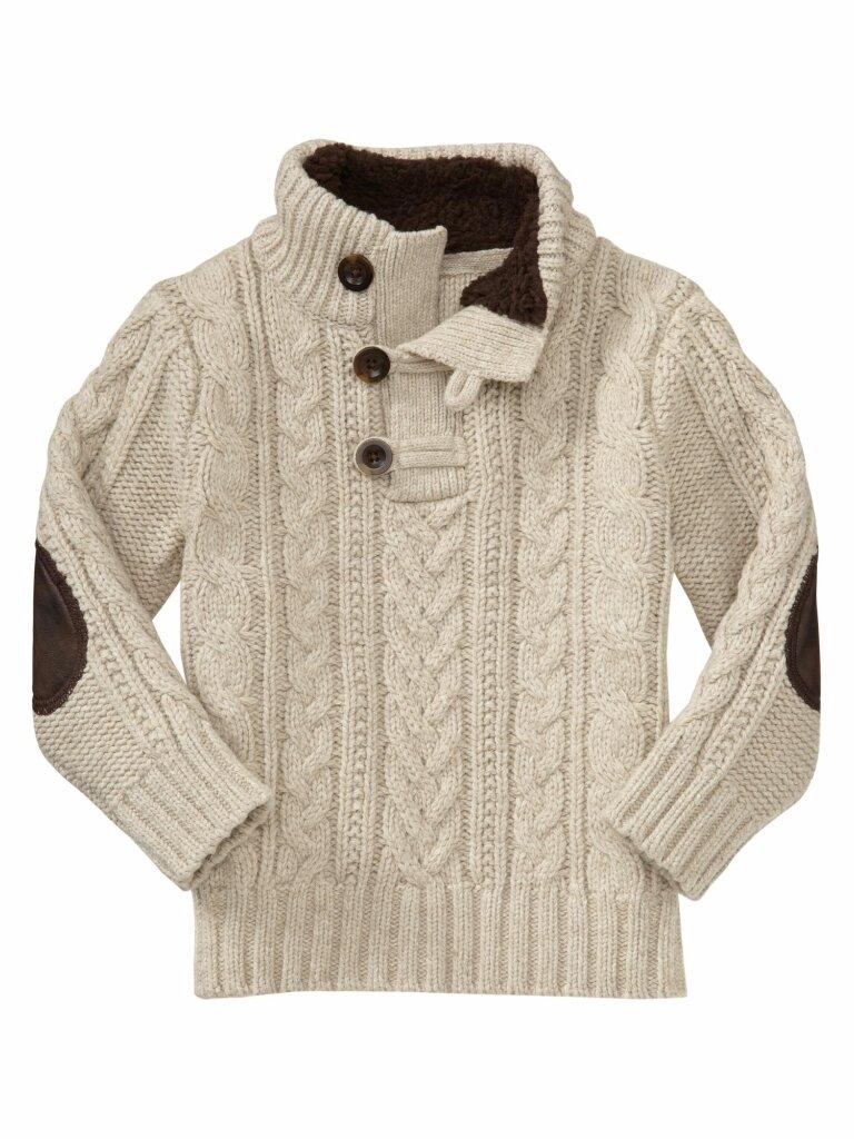 схема вязания свитера для ребенка спицами для начинающих