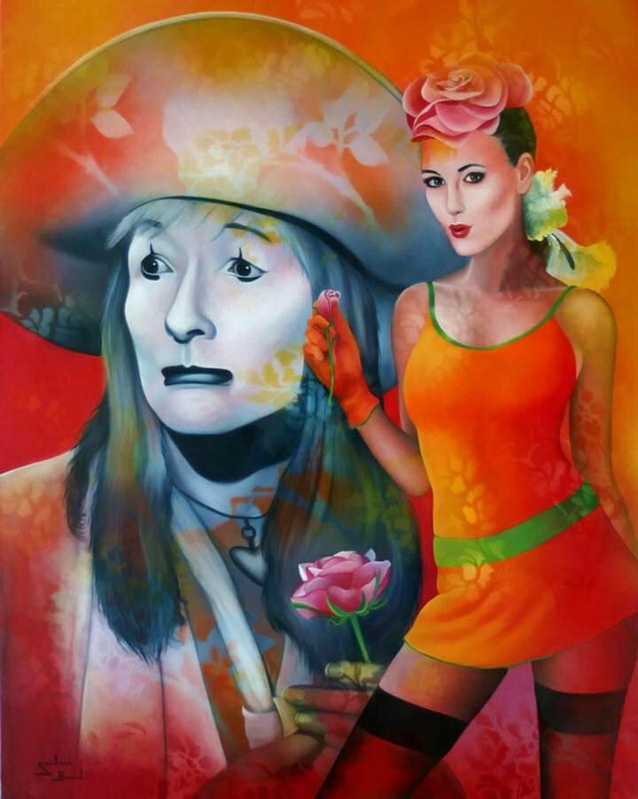 Jeannette Guichard-Bunel. Pin Up с сюрреализмом и юмором 19