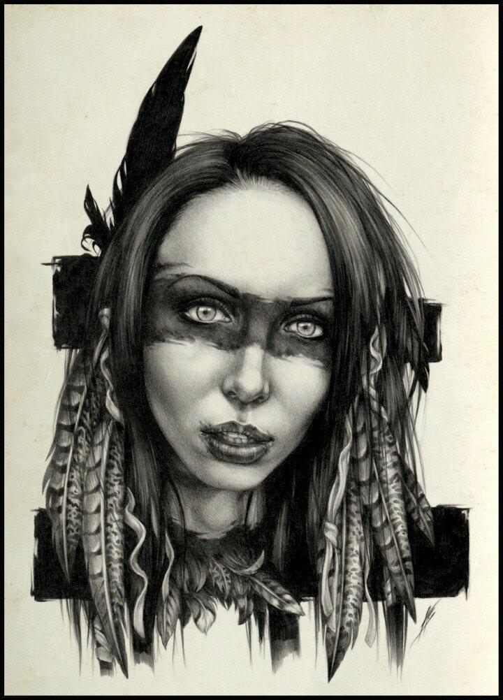 Рисунок карандашом. DyingQuasar