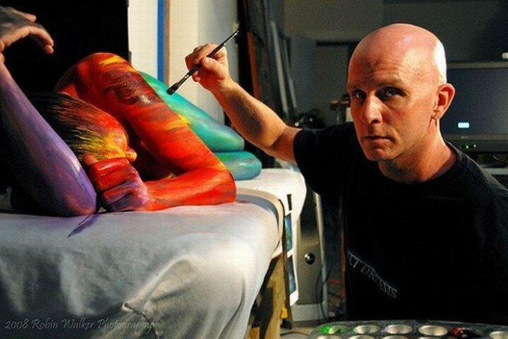Craig Tracy. Боди арт-художник 40