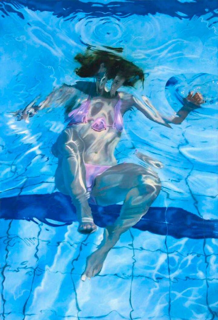 Sarah Harvey. Девушка под водой 25