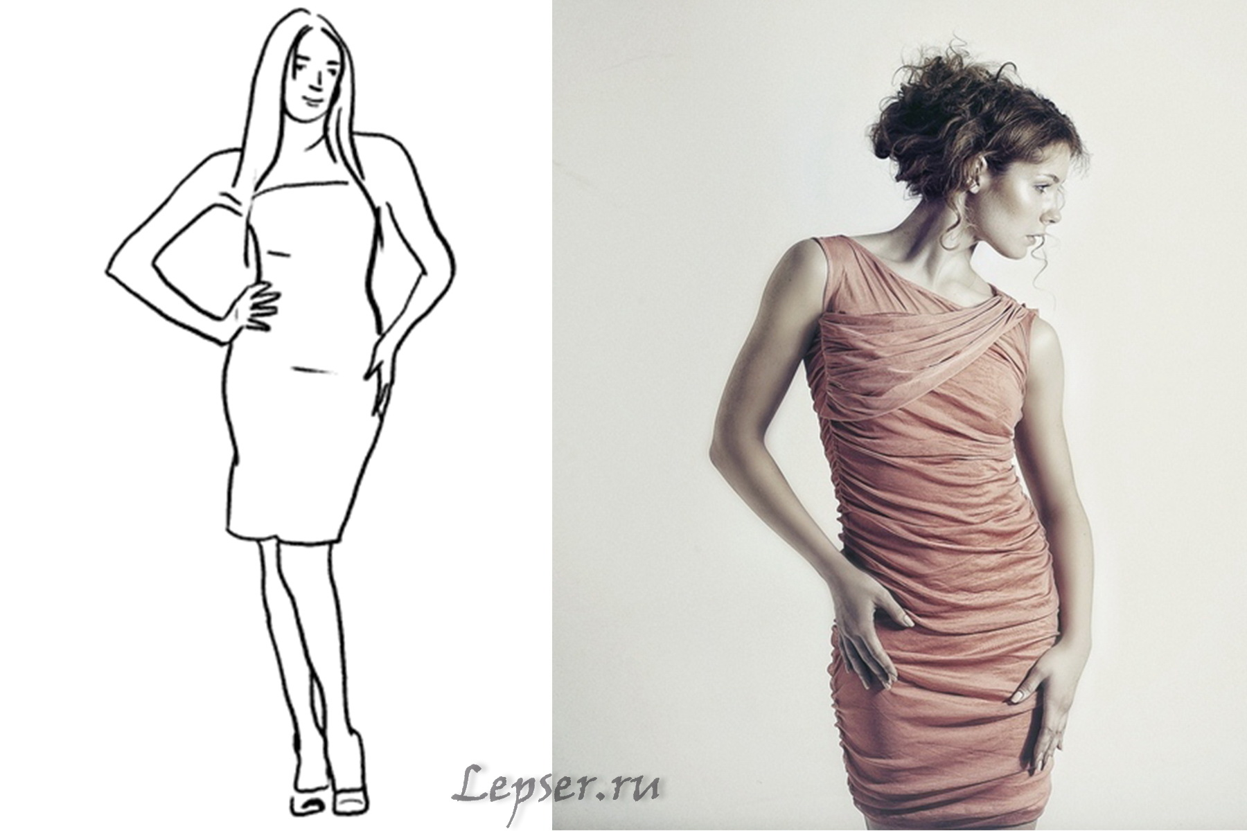 Женщина в разных ракурсах — pic 11