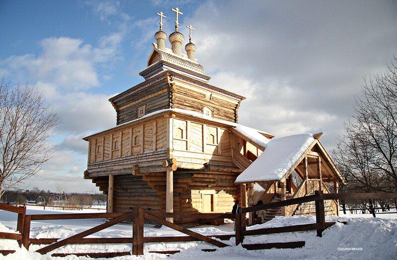Церковь Георгия Победоносца в Коломенском