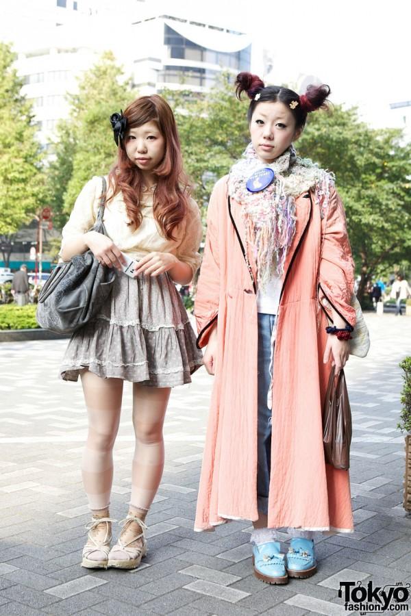 японский уличный стиль 2
