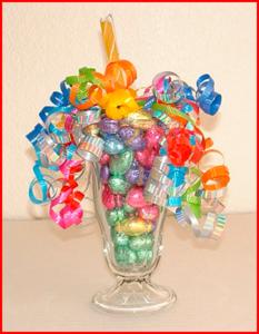 Букет из конфет для Дня разноцветных букетов