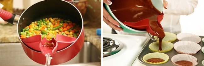 © amazon.com  Никакой пролитой воды идругих жидкостей навашей кухне благодаря этому приспосо