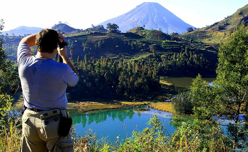 На плато Диенг (фото Е.Кузнецовой)