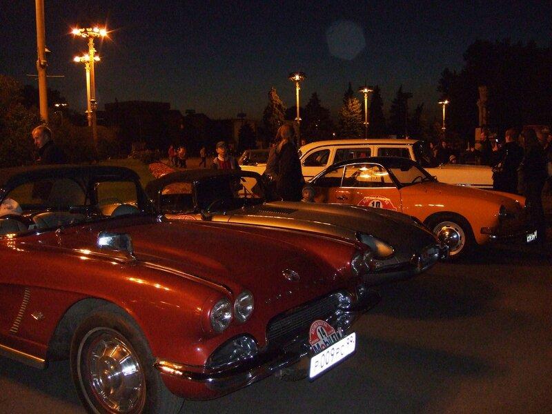 Выставка раритетных авто на ВВЦ