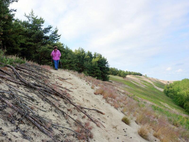 Путь через дюны