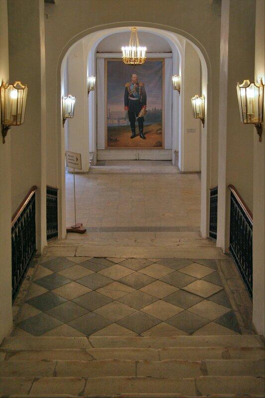 Гатчинский дворец, Портрет Александра III