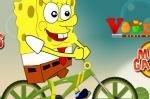 БМХ гонка Спанч Боба (BMX Spongebob)