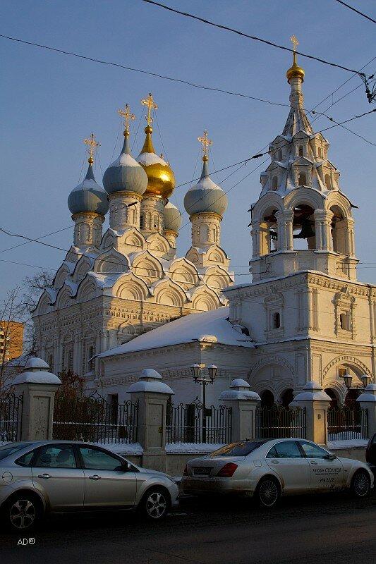 Храм святителя Николая Мирликийского в Пыжах