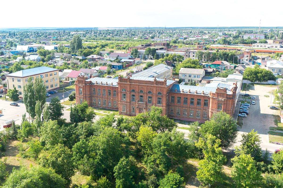 Аткарск городской парк с высоты аэросъёмка фото 4