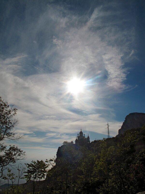 Крым,Форос,Храм Воскресения Господня