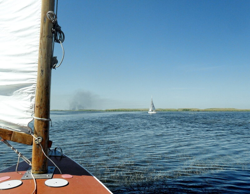 В походе яхтенном, сентябрь 2012