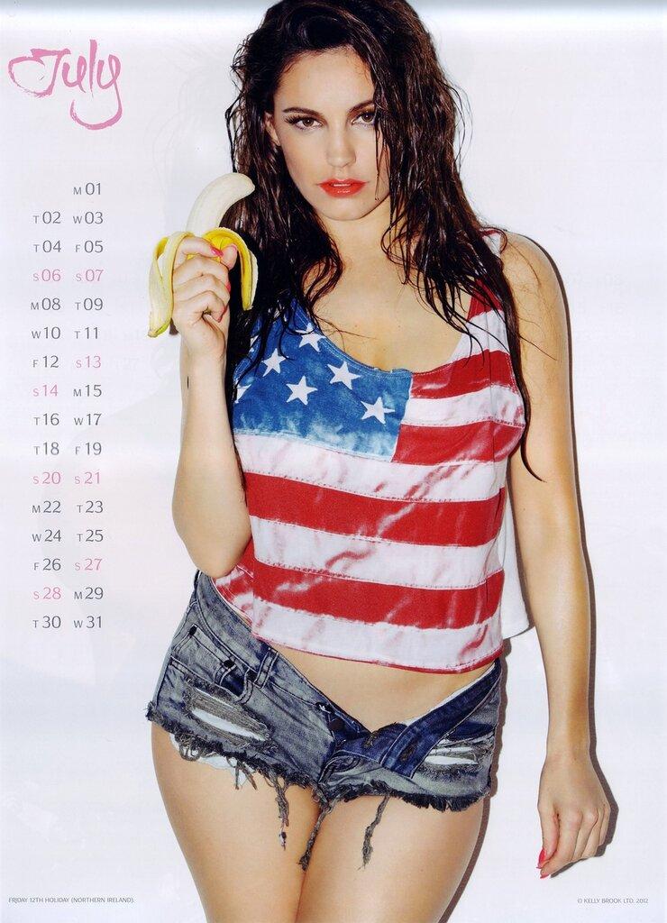 Официальный календарь Келли Брук на 2013 год / Kelly Brook official 2013 calendar