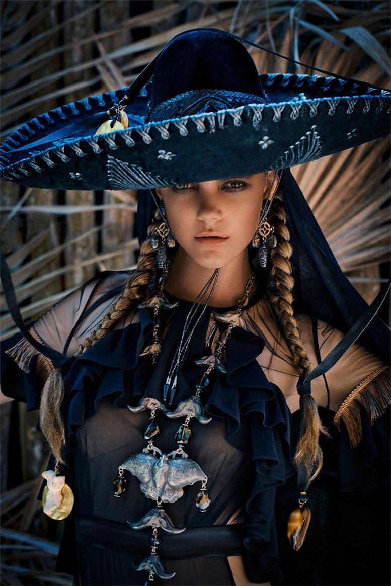 модель Имоджен Моррис Кларк / Imogen Morris Clarke, фотограф Enrique Badulescu