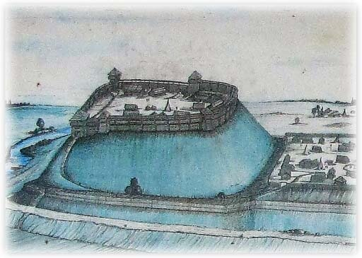Городище Добе, реконструкция