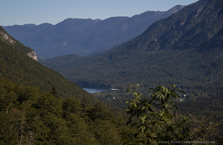 Путешествие на машине по Словении