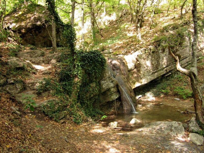 Водопад на реке Сотера