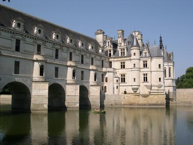 Замок Шенонсо. Франция