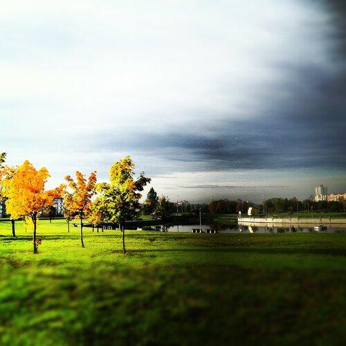 солнечная осень в белоруссии