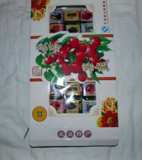 Упаковка конфет  по-китайски