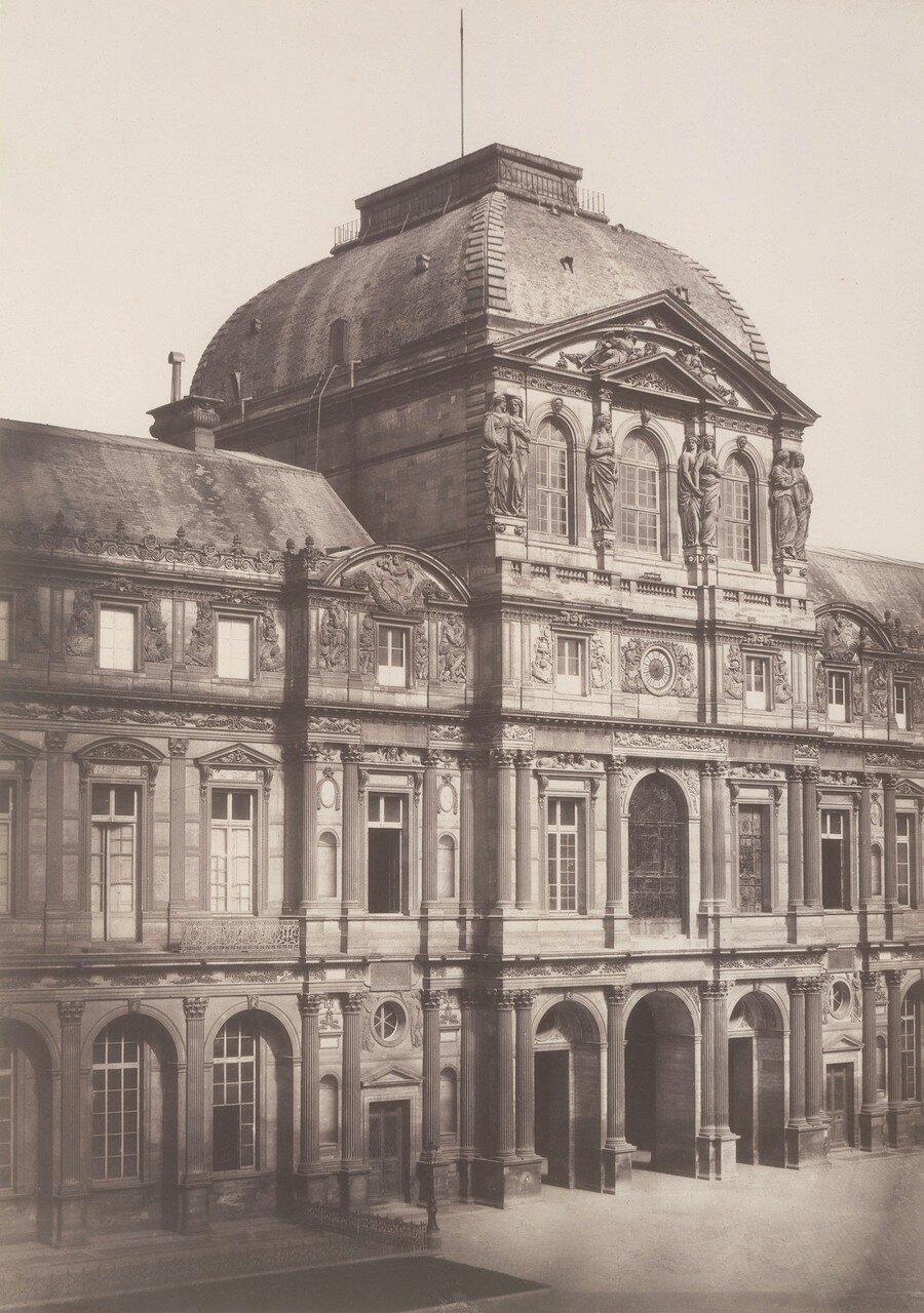 1857. Лувр. Павильон Часов