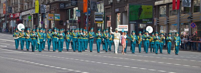 Казахский военый оркестр