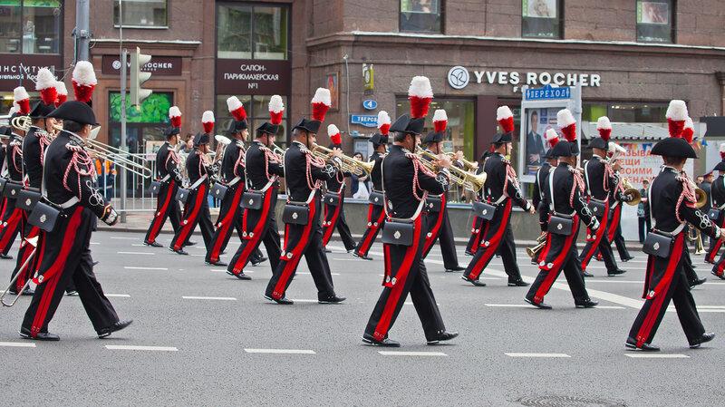 Итальянский военный оркестр