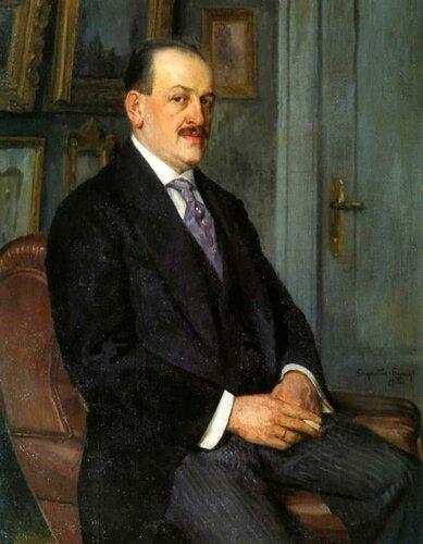 Богданов-Бельский Н. П. Автопортрет 1915
