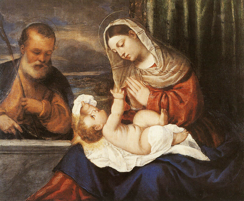 Attributed to Francesco Vecellio - The Holy Family.jpg