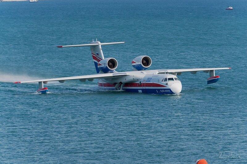 Бериев Бе-200ЧС (RF-21512) ТАНТК Бериева DSC_4316