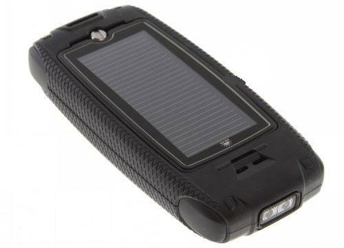 Texet TM-503RS с солнечной батареей