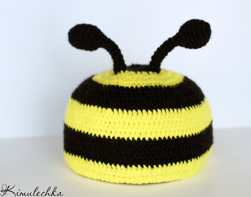 и шапочка Пчелка Бззз.