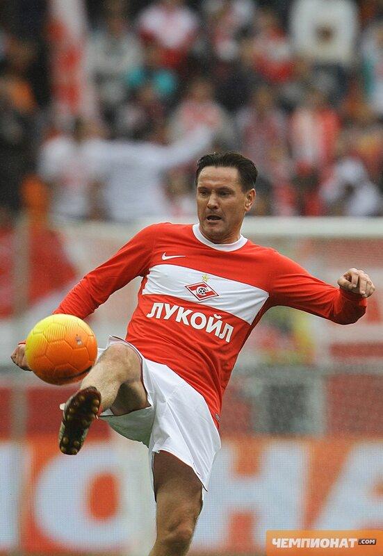 Дмитрий Аленичев. Прощальный матч Егора Титова