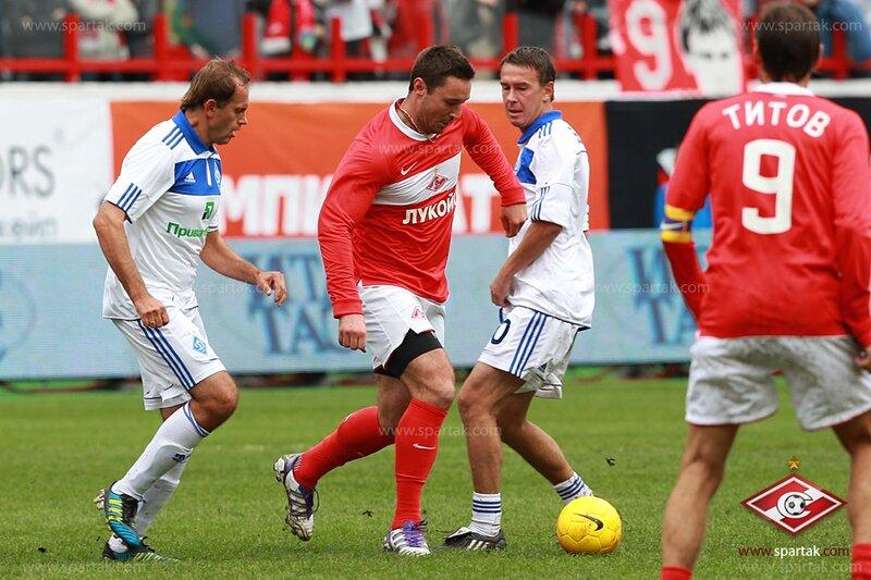 Илья Ковальчук в прощальном матче Егора Титова