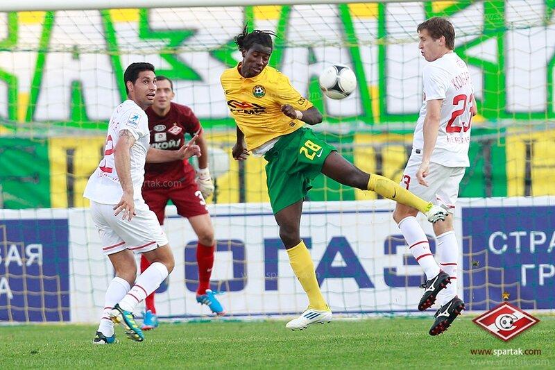 «Кубань» vs «Спартак» 2:2 Премьер-лига 2012-2013 (Фото)