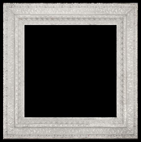 Белая квадратная рамка для фото