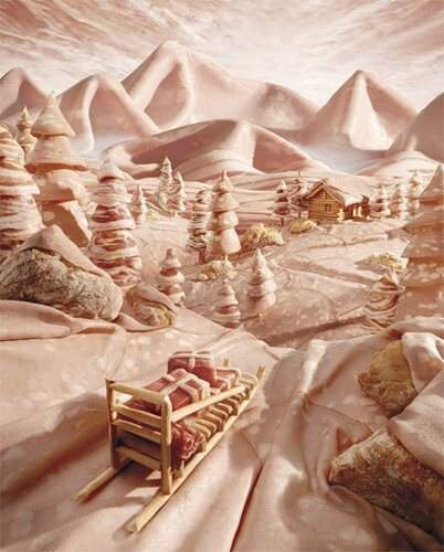 Карл Варнер (Carl Warner): съедобные картины и не только...