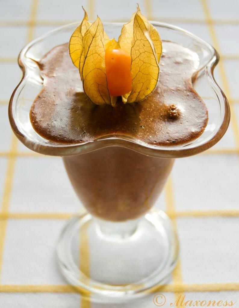 Шоколадный мусс. Французская кухня