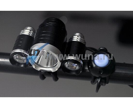 Cветодиодные велосипедные фары, 3000 лм,10W CREE T6 LED Headlamp (3 шт.