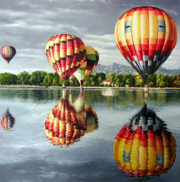 Цветные полотна. Shay Kun 9