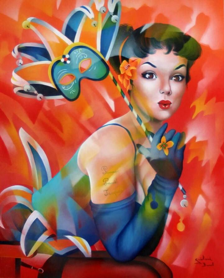 Jeannette Guichard-Bunel. Pin Up с сюрреализмом и юмором 9
