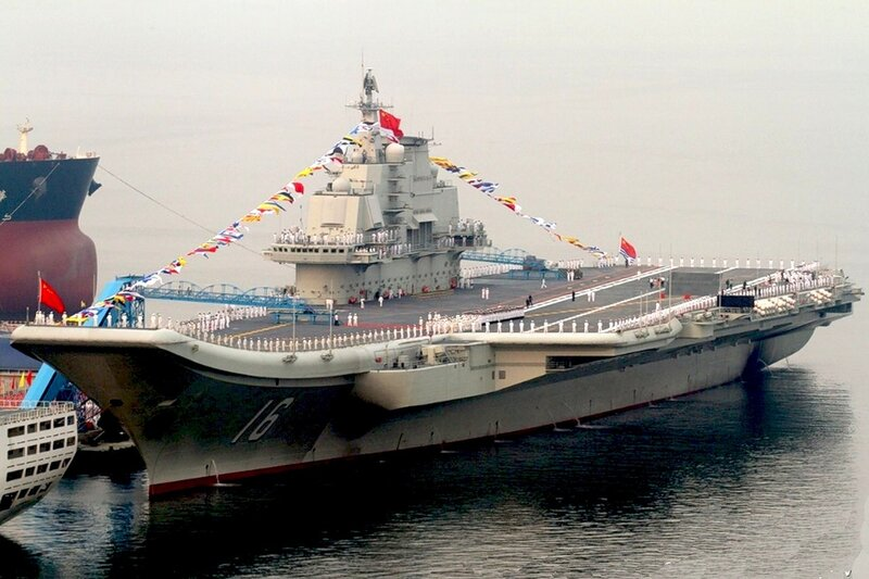 Китайский авианосец Liaoning