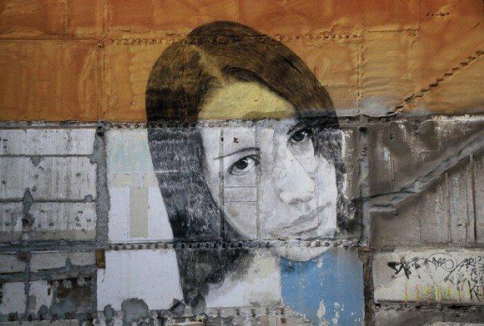 Уличное искусство. Jorge Rodriguez-Gerada 23